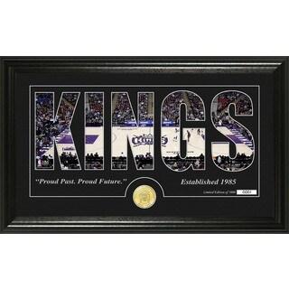 "Sacramento Kings ""Silhouette"" Bronze Coin Photo Mint"