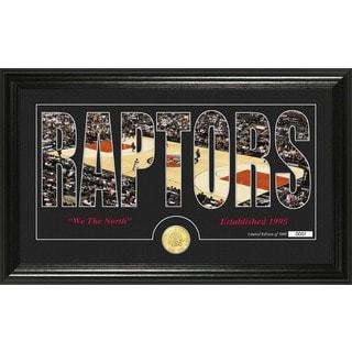 "Toronto Raptors ""Silhouette"" Bronze Coin Photo Mint"