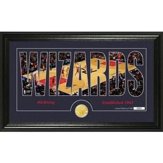 "Washington Wizards ""Silhouette"" Bronze Coin Photo Mint"