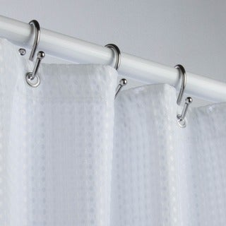 Honey-Can-Do Lux Fabric Shower Curtain Liner - 70x72