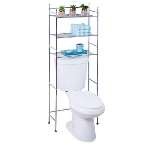 Honey-Can-Do Chrome 3-tier Bathroom Space Saver