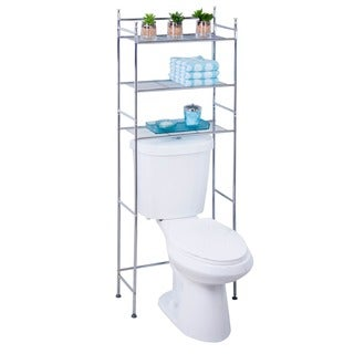 Chrome 3-tier Bathroom Space Saver