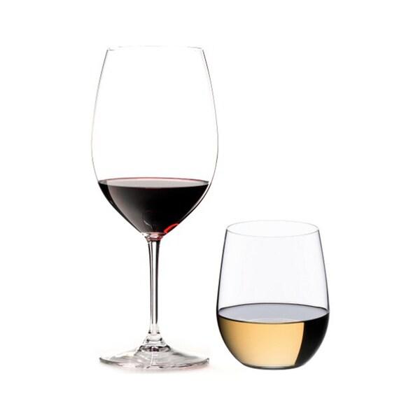 Riedel 8-Piece Vinum Bordeaux and O Viognier Glassware Set (54169)