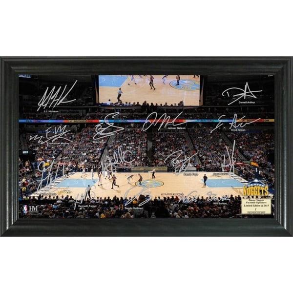 Denver Nuggets Signature Court