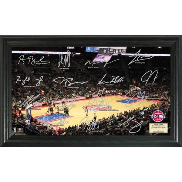 Detroit Pistons Signature Court