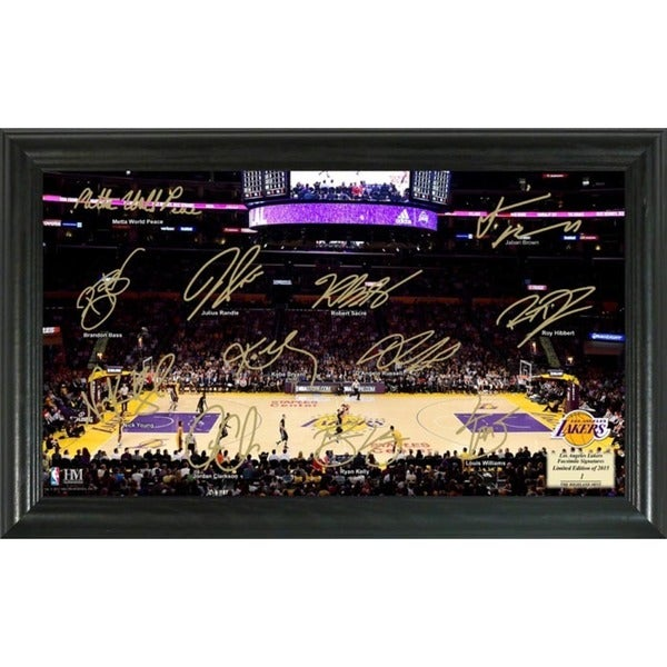 Los Angeles Lakers Signature Court
