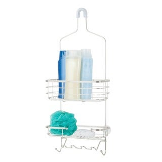 Chrome Shower Caddy - Silver