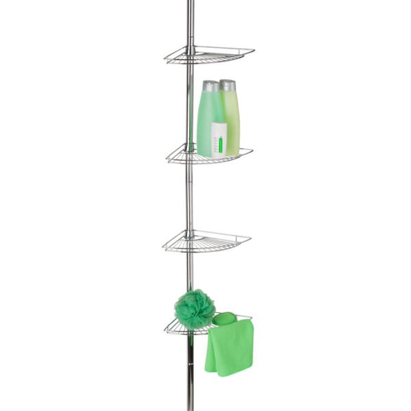 Honey-Can-Do Chrome Shower Caddy