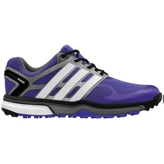 Adidas Mens Adipower Sports Boost Night Flash/White/Silver Golf Shoes