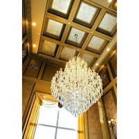 Maria Theresa Grand 84-light Chrome Finish 5-tier Extra Large Crystal Victorian Chandelier