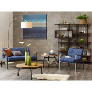 INK+IVY Steller Metal Lounge Chair