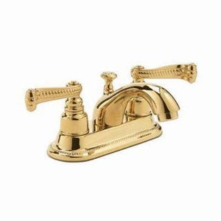 Pegasus 5000 Series 4-inch 2-Handle Lavatory Faucet in Polished Brass