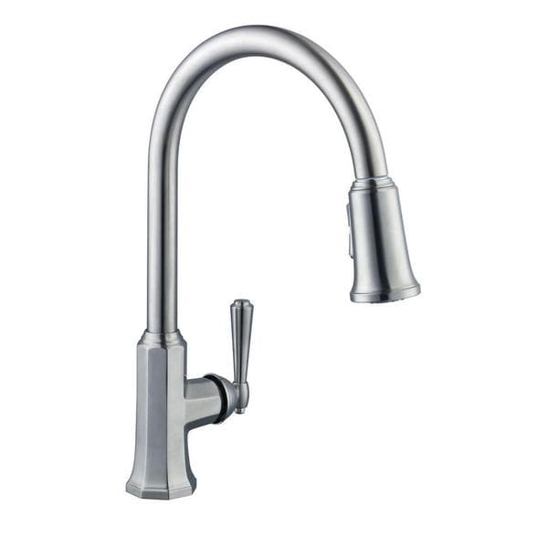 Flow Series Single Handle Pull Down Sprayer Kitchen Faucet