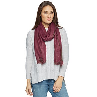 Saachi Women's Two Toned Reversible Scarf (China)