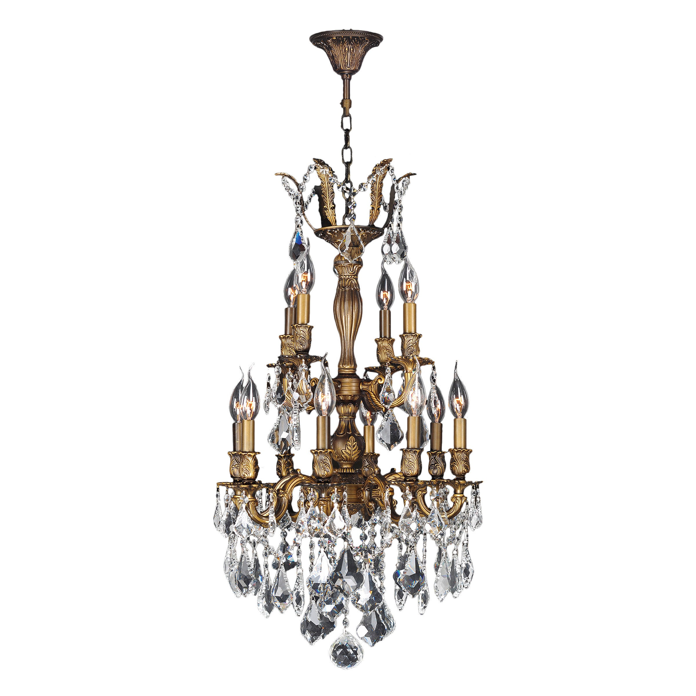 French Imperial Collection 12 Light Antique Bronze Finish...