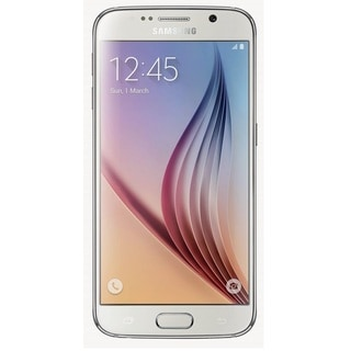 Samsung Galaxy S6 G920a 64GB Unlocked GSM 4G LTE Octa-Core Phone - White