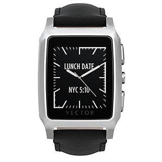 Vector Meridian Brushed Smart Watch - Retail Packaging