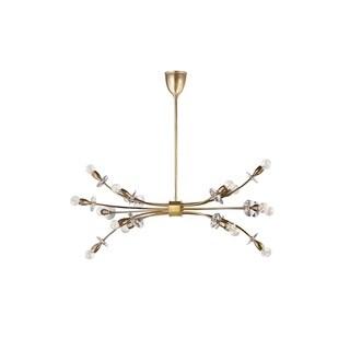 Hudson Valley Alexandria 16 Light Aged Brass Chandelier