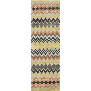 "Momeni Rio Multicolor Hand-Tufted Runner Rug (2'3 X 7'6) - 2'3"" x 7'6"""