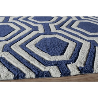 Labyrinth Hand-Tufted Rug (8'x10')