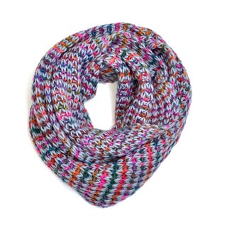 Dasein Chunky Multi-Color Infinity Scarf
