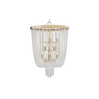 Hudson Valley Royalton 12 Light Aged Brass Pendant