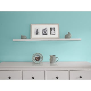 Lewis Hyman Wall Mounted 48-inch White Floating Shelf