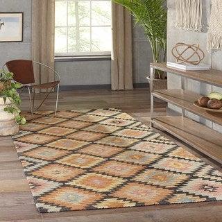 "Kasbah Santa Fe Hand-Tufted Wool Rug (7'6"" x 9'6"")"