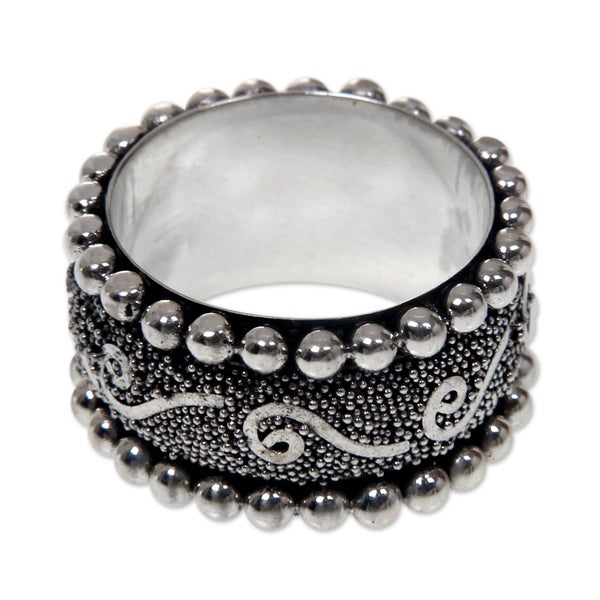 527e08efa6cd63 Shop Handmade Queen of Java Sterling Silver Ring (Indonesia) - On ...