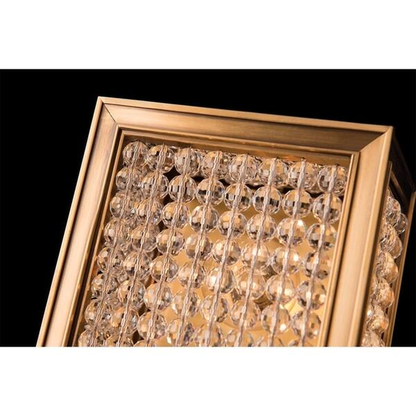 Norwood 5 Light Aged Brass Wall Sconce Overstock 10792049