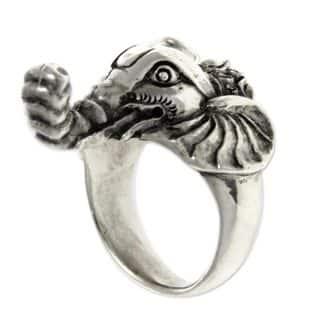 Handmade Men's Sterling Silver 'Wise Ganesha' Garnet Ring (Indonesia)|https://ak1.ostkcdn.com/images/products/10792055/P17839411.jpg?impolicy=medium
