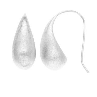 Isla Simone - Plated Teardrop Earring