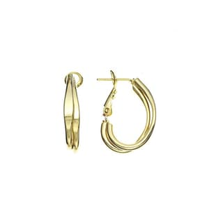 Isla Simone 2.5mm Double Strand Small J Hoop