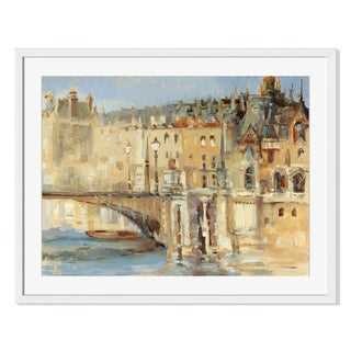 Gallery Direct Parisian Architecture Print by Sylvia Angeli on Paper Framed Print