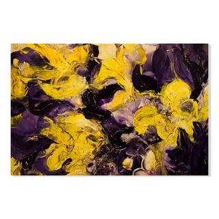 Gallery Direct Shades of Violet I Print by Lisa Fabian on Birchwood Wall Art