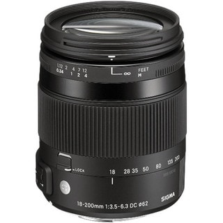 Sigma 18-200mm f/3.5-6.3 DC Macro for Nikon