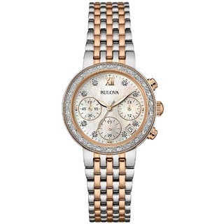 Bulova 98R215 Diamond Collection Women's Watch