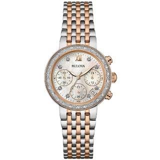 Bulova 98R215 Diamond Collection Women's Watch