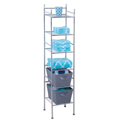 Honey-Can-Do 6-tier Metal Space Saver Tower