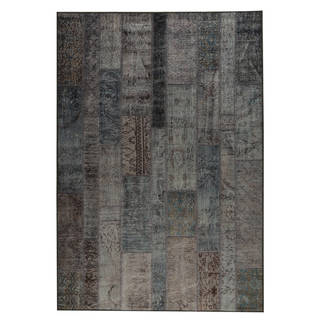 Link to Handmade Printed Adana Blue Vintage Print Rug (India) - 2' x 3' Similar Items in Transitional Rugs