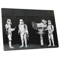 Banksy 'Stormtroopers Filming The Oscars' Gallery-wrapped Canvas Wall Art