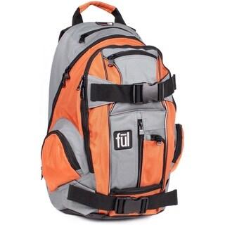 Ful Overton Orange 20-inch Backpack