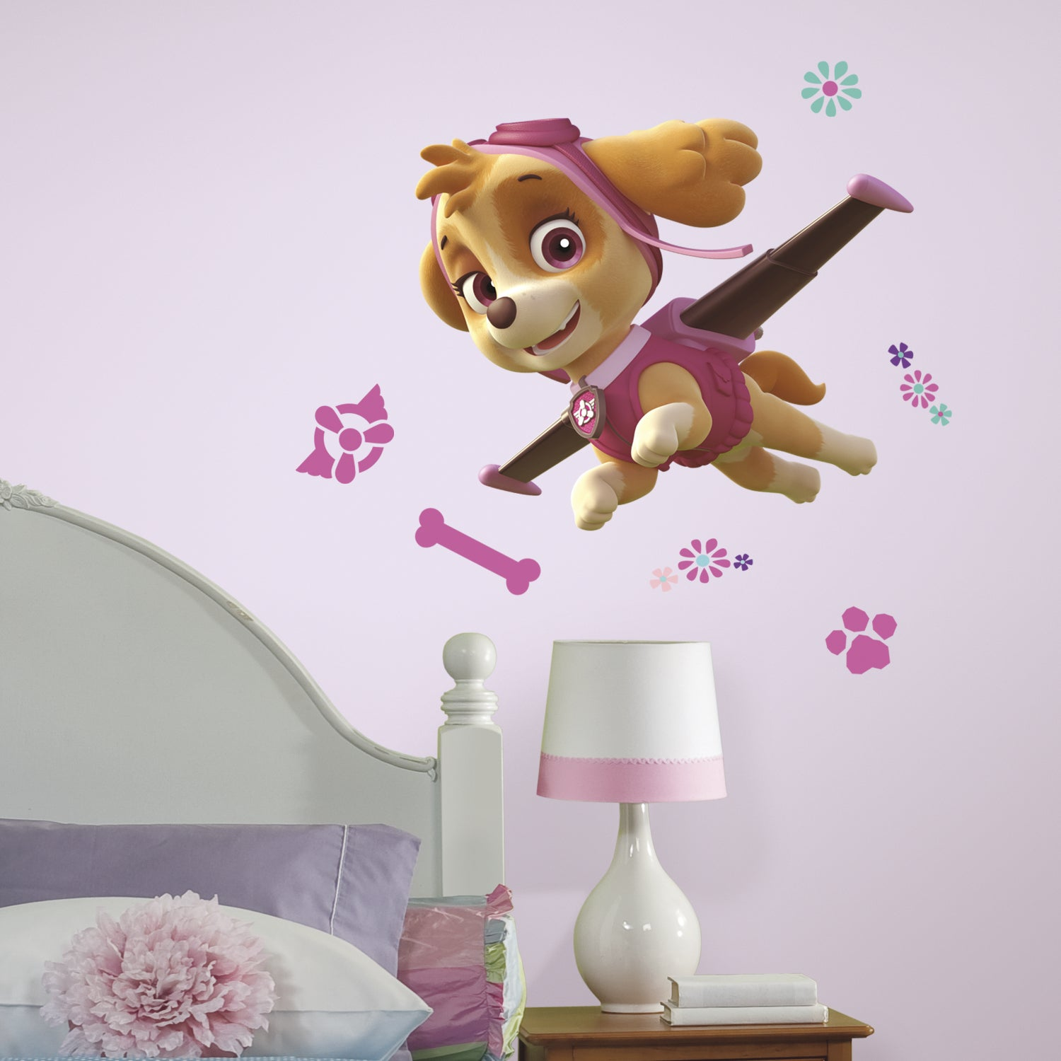 RoomMates Paw Patrol Skye Peel and Stick Giant Wall Decal...