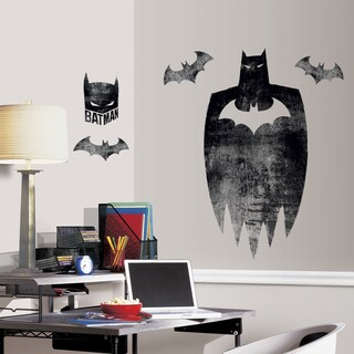 Roommates Batman Silhouette Peel and Stick Giant Wall Graphic