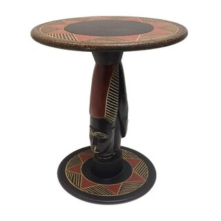Handmade Zulu Queen Arts Table (Ghana)