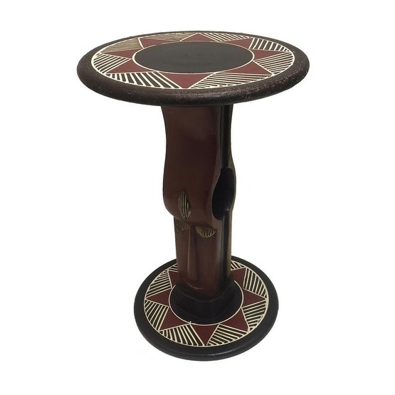 African Heritage Collection Handmade Oheneba Arts Table (...