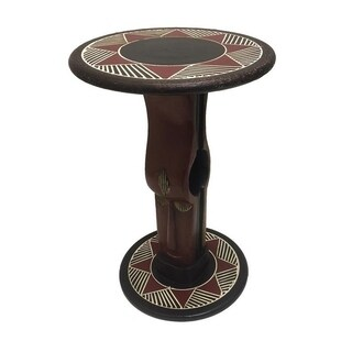 Handcrafted Oheneba Arts Table (Ghana)
