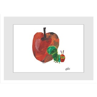 Marmont Hill - Hungry Caterpillar by Eric Carle Painting on Framed Print