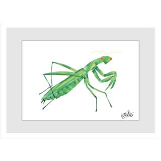 Marmont Hill - Mantis by Eric Carle Painting on Framed Print
