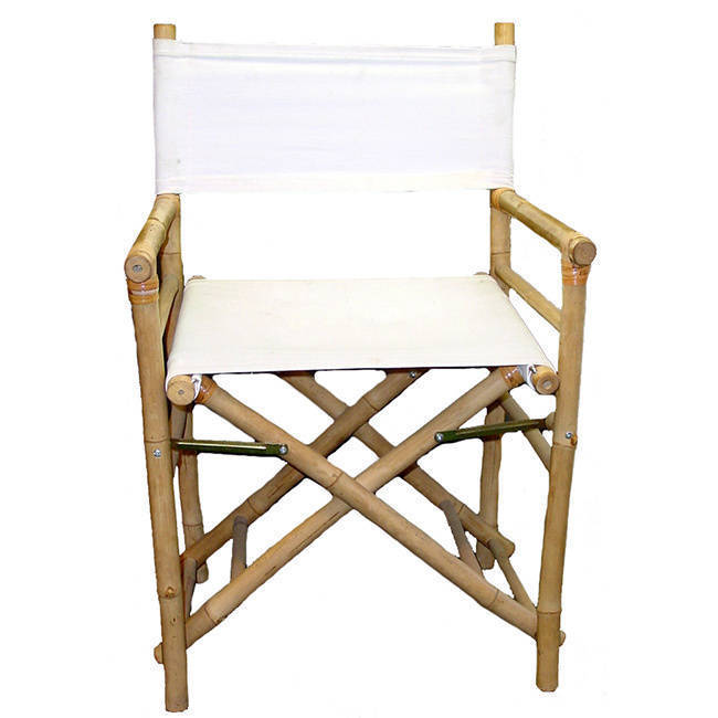 Bamboo 54 Handmade Director's Chair Canvas Replacement Se...
